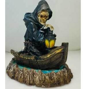 """6 3/4"""" Reaper back flow incense burner"""