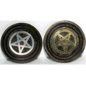 Black Pentagram Coaster