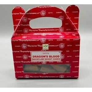 Dragon's Blood Satya 24 backflow cones