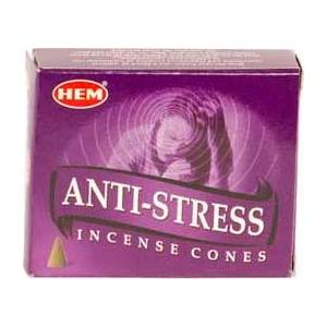 Anti-Stress Hem Cone Incense 10pk