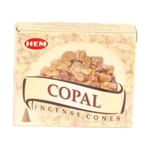 Copal Hem Cone Incense 10pk