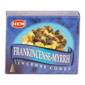 Frank & Myrrh Hem Cone Incense 10pk