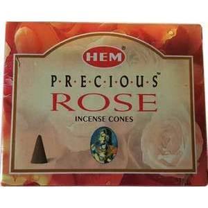 Rose Hem Cone Incense 10pk