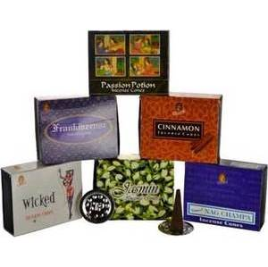 Rose Cone Incense 10pk