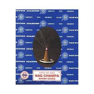 Nag Champa Cone Incense 12pk