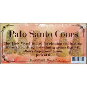 Palo Santo 6 cones