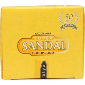 Sandal Cone Incense 12pk