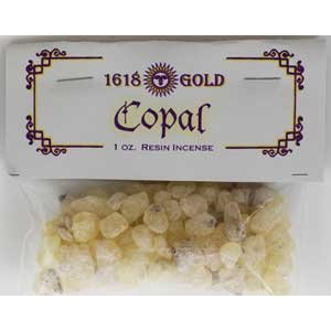 Copal Resin (Granular Incense) 1oz