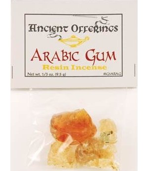 Arabic Gum (Granular Incense) 1/3oz