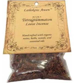 Crowley's Tetragrammation Granular Incense 21g