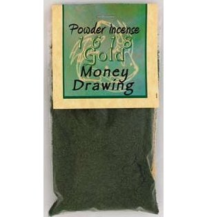 Money Drawing Incense Powder 1oz