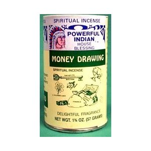 Money Drawing Incense Powder 1 3/4oz