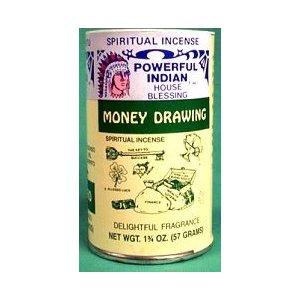Money Drawing Incense Powder 1 3/4oz