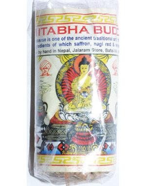 Amitabha Buddha Tibetan rope incense 45 ropes