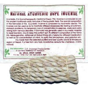 Ayurvedic Tibetan rope incense 80 ropes