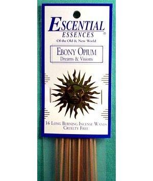 Ebony Opium Stick Incense 16pk