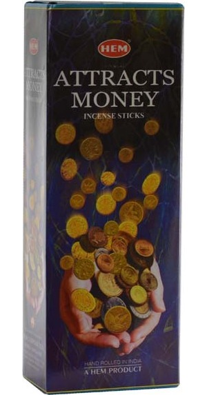 Attracts Money Hem Stick Incense 20pk
