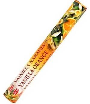 Vanilla Orange Hem Stick Incense 20pk