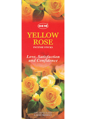 Yellow Rose HEM stick 20 pack