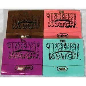 Scented Incense Matches 50 pack