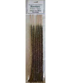 Rosemary & White Sage Stick Incense 6 Pack