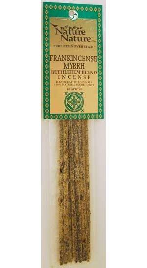 Frank/Myrrh Bethlehem Blend Stick Incense 10pk