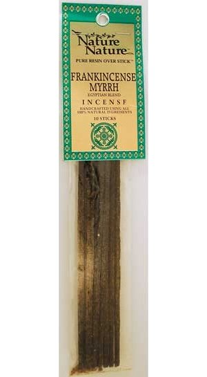 Frank/Myrrh Egyptian Blend Stick Incense 10pk