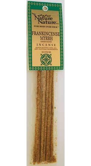 Frank/Myrrh Greek Blend Stick Incense 10pk