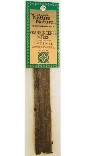 Frank/Myrrh Jerusalem Blend Stick Incense 10pk