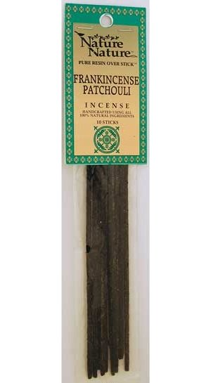 Frank/Patchouli Stick Incense 10pk