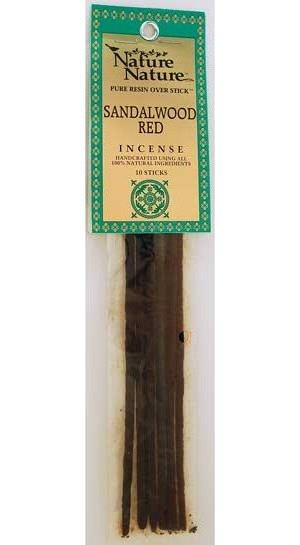 Sandalwood Red Stick Incense 10pk