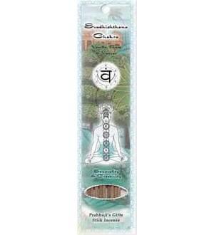 Svadhisthana Chakra Stick Incense 10pk