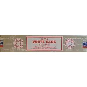 White Sage Satya Incense 15gm