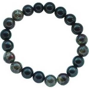 10mm Shungite with asst stones bracelet