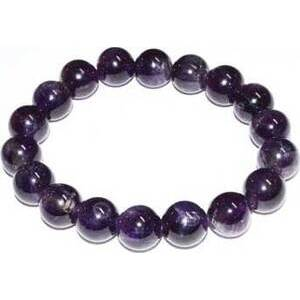 12mm Amethyst bracelet