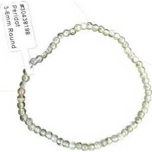 3mm - 6mm Peridot bracelet