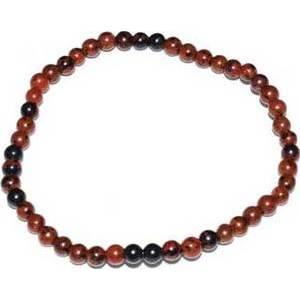 4mm Obsidian, Mahogany