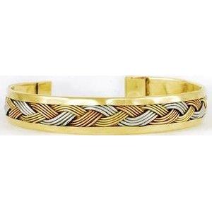 Brass Weave Bracelet