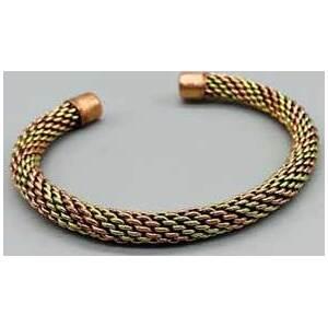 Tri-Tone Copper bracelet