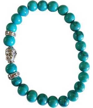 Om Turquoise Bracelet