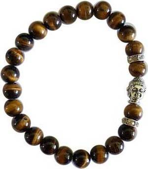 Om Tiger's Eye Bracelet