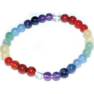 6mm 7 Chakra bracelet