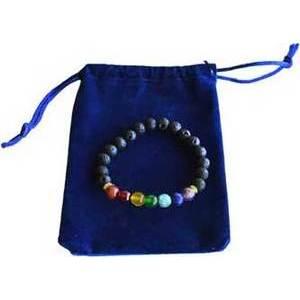 7 Chakra bracelet with bag