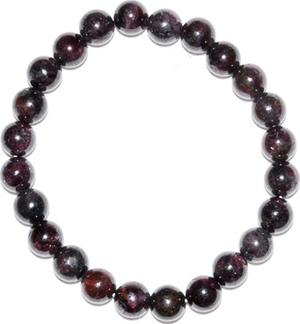 6-8mm Garnet bracelet