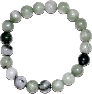 8mm Green Jade bracelet