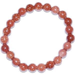 8mm Goldstone bracelet