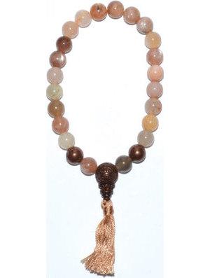 8mm Multi Moonstone Tassel