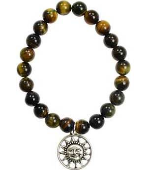 Tiger Eye Sunface Bracelet