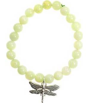 New Jade Dragonfly Bracelet