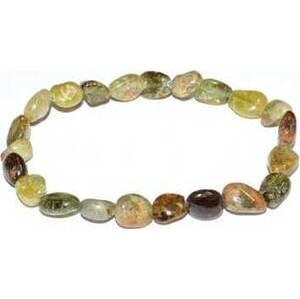 Green Garnet Nugget bracelet